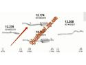 Глушитель Мерседес Спринтер (Mercedes Sprinter) CDi (13.174) Черновцы (Sks)