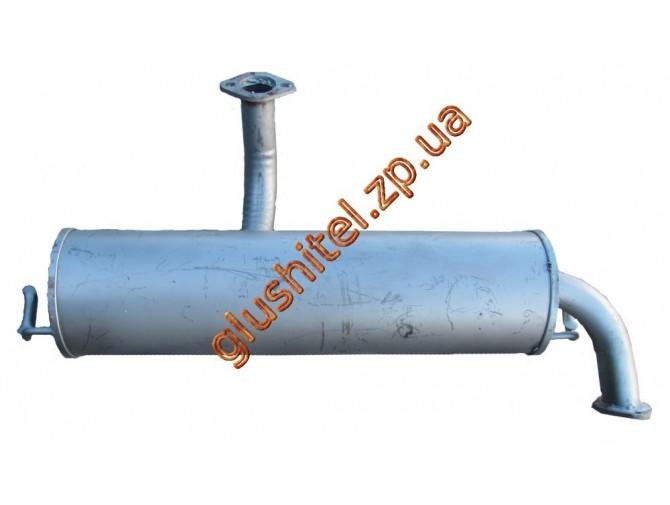 Глушитель Таврия-1102 без сопилки алюминизированный Черновцы (38.02) Sks