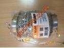 Гофра глушителя усиленная 50Х100 Interlock кольчуга (3 слоя, короткий фланец / нерж.сталь) Walline