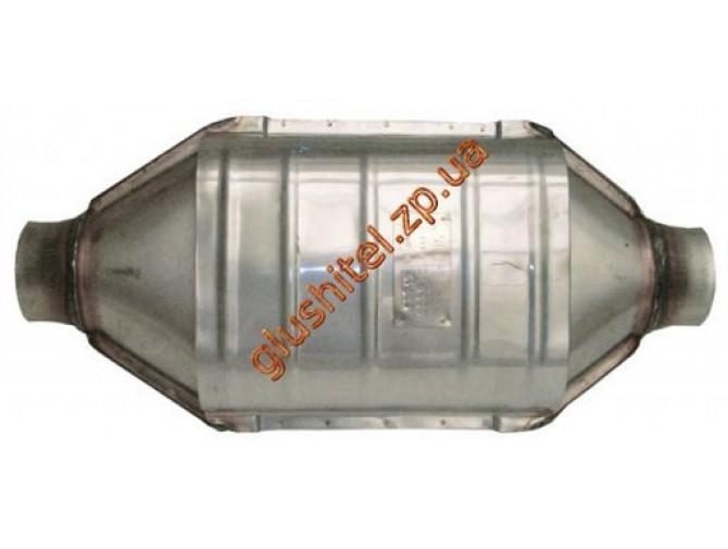 Катализатор универсальный круглый 120.0423 Diesel E3 (объем 2.0 - 3.0л, диаметр входа 57мм, длинна 405мм, диаметр 130мм)