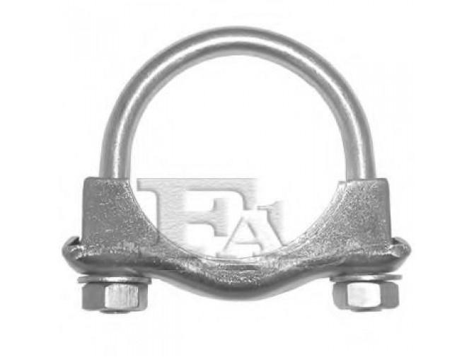 Fischer 922-945 Ford хомут M10 45,5 мм обычная гайка + шайба M10x18 DIN125