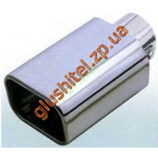 Насадка на глушитель (плоская) CarEx YFX-0037А