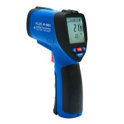 Пирометр инфракрасный термометр дистанционный FLUS IR-862U (-50…+1350) USB регистратор температуры
