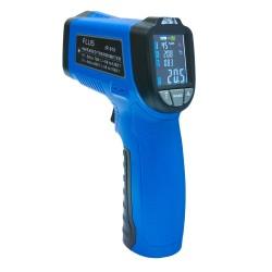 Пирометр термометр безконтактнный инфракрасный FLUS IR-818 (-50…+750) с термопарой и цветным дисплеем