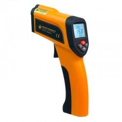Пирометр термометр безконтактнный инфракрасный Xintest HT-6897 (-50...+1650°C, 50:1) с термопарой