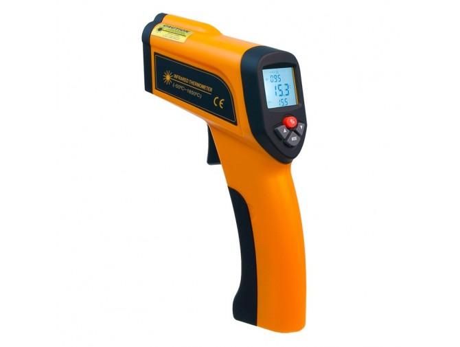 Пирометр термометр беcконтактный инфракрасный Xintest HT-6898 (-50...+1850°C, 50:1) с термопарой