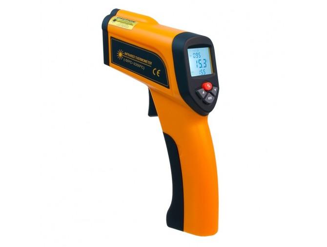 Пирометр термометр бесконтактный инфракрасный Xintest HT-6899 (-50...+2200°C, 50:1) с термопарой