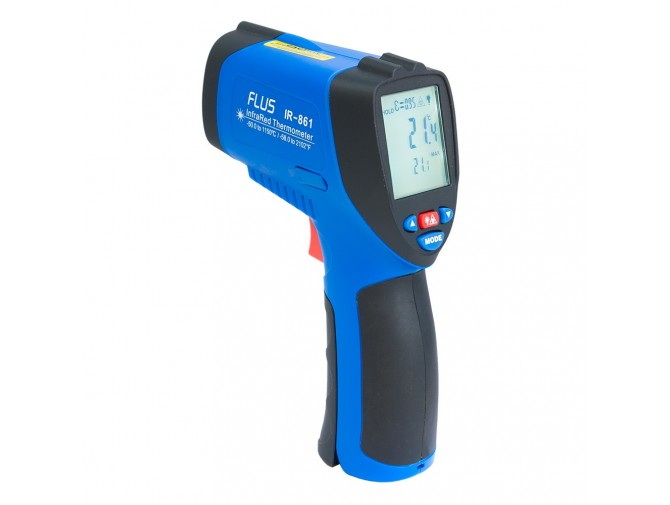Пирометр термометр дистанционный инфракрасный FLUS IR-861 (-50…+1150)