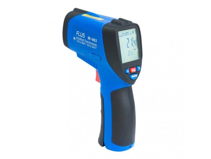 Пирометр термометр дистанционный инфракрасный FLUS IR-863 (-50…+1650)