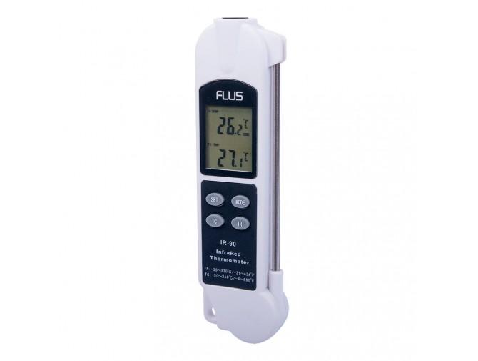 Пирометр термометр дистанционный инфракрасный Flus IR-90 (-35…+330)