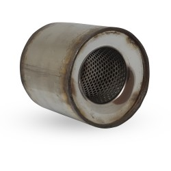 Пламегаситель коллекторный Mazda 3 (1.6, 2006) диаметр 115 длина 100 DMG