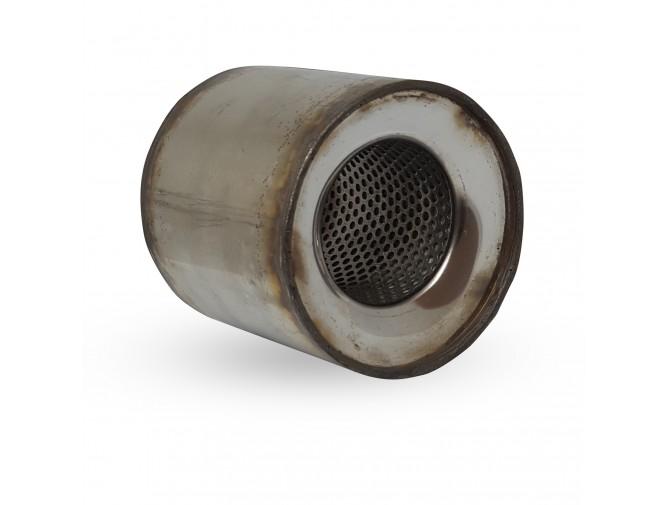 Пламегаситель коллекторный Nissan Qashqai (2.0) диаметр 115 длина 100 DMG