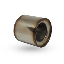 Пламегаситель коллекторный Mazda 6 (2.0, 2005) диаметр 100 длина 115 DMG
