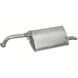 Глушитель Шевроле Лачетти (Chevrolet Lacetti) 128-025В / 05.62 Bosal алюминизированный
