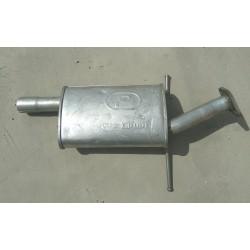 Резонатор Хюндай Санта Фе (Hyundai Santa Fe) 2.0D / 2.0 / 2.4, 01 - 06 (10.13) Polmostrow алюминизированный