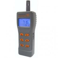 Портативный газовый анализатор/термогигрометр (СО2,СО, RH, T) USB AZ-77597