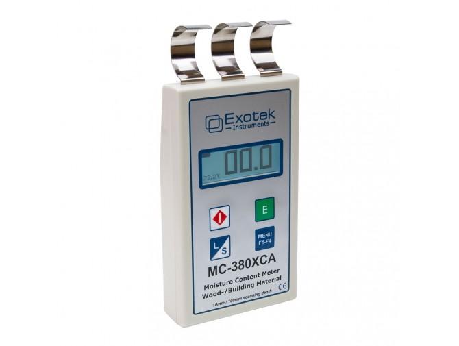 Профессиональный влагомер древесины, стройматериалов Exotek MC-380XCA