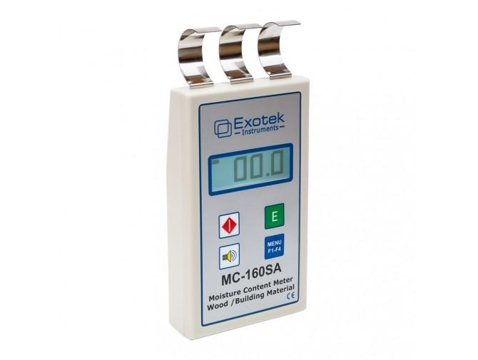 Профессиональный влагомер древесиныстройматериалов Exotek MC-160SA