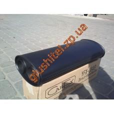 Прямоточный глушитель 2 входа 2 выхода 60/200/2 MUFFLER алюминизированный