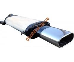 Глушитель прямоточный ВАЗ 2108-2109 (Lada Samara) плоский - Unimix
