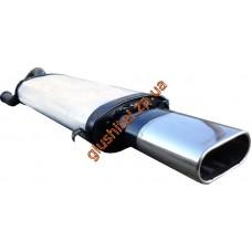 Глушитель прямоточный ВАЗ 2110 ВАЗ 2112 Плоский Unimix