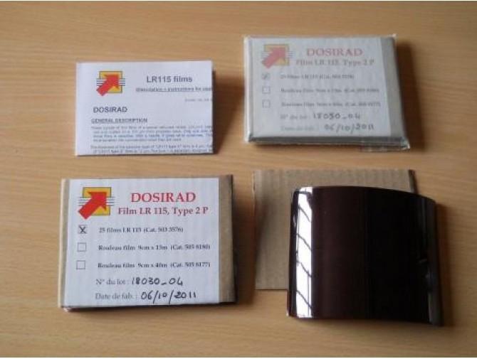 Трековый Детектор, Трековая Пленка DOSIRAD LR115