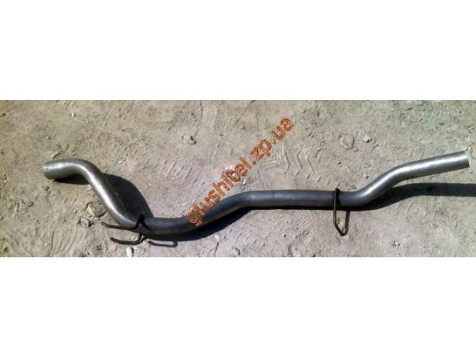 Трубка конечная Опель Фронтера (Opel Frontera) 2.4i 4x4 92-95 (17.446) Polmostrow алюминизированный