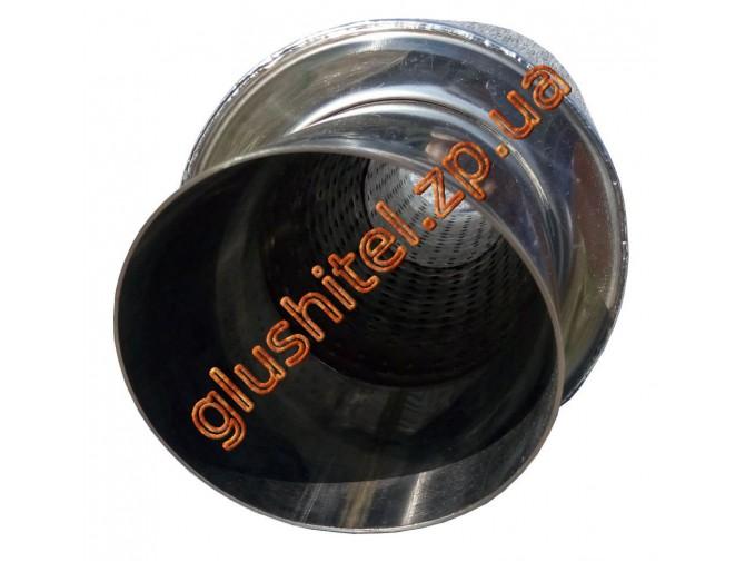 Прямоточный глушитель Unimix UCS315-913-7026-70 с насадкой, из нержавейки универсальный