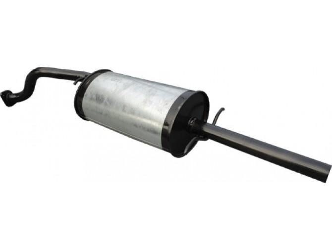 Глушитель ДЭУ Ланос - Сенс (Daewoo Lanos - Sens) седан 1.3-1.6 - Unimix