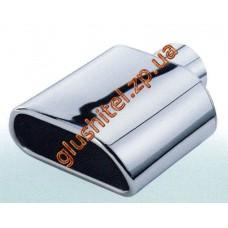 Насадка на глушитель (плоская) CarEx YFX-0280