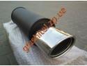 Прямоточный глушитель YFX-0722 (V017) алюминизированный/нержавейка