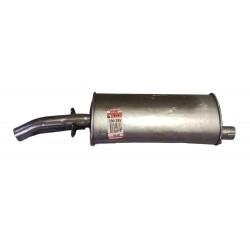 Глушитель задний Рено Р12, Р18 (Renault R12, R18)/Дача 1310, 1210 (Dacia 1310, 1210) 1.2/1.3/1.4 69-00 (200-385) Bosal 02.02 алюминизированный