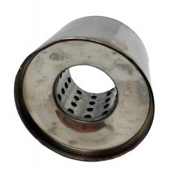 Пламегаситель коллекторный диаметр 110 длина 100 Euroex