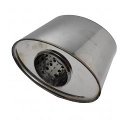 Пламегаситель коллекторный овальный 90/160/120 Euroex
