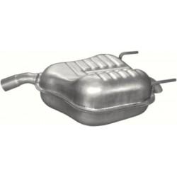 Глушитель Опель Вектра С (Opel Vectra C) 1.6i -16V; 1.8i -16V 04/02-11/05 (17.615) Polmostrow алюминизированный