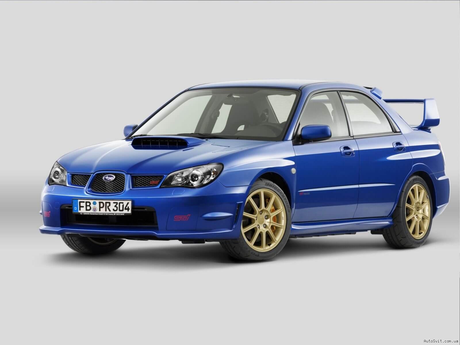 Глушители Subaru